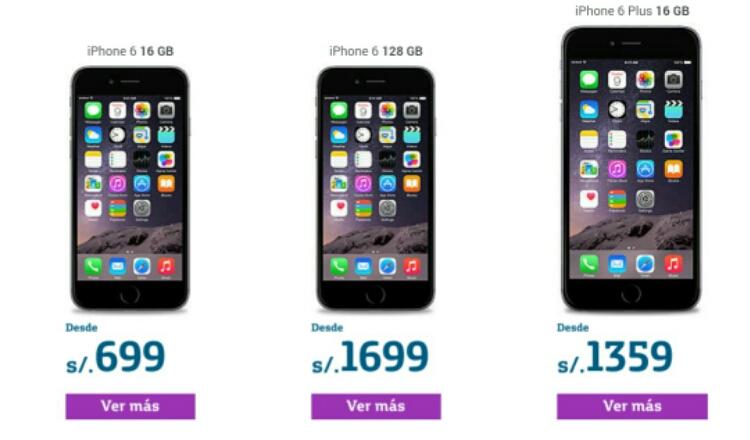 Iphone  Plus  Precio