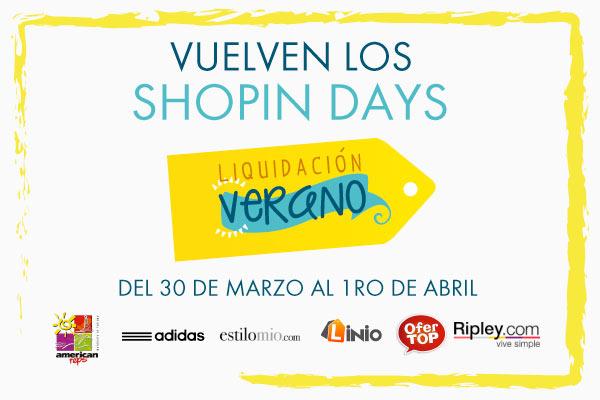 Shopin Days - Liquidación Verano